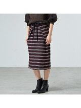ツイルボーダースカート