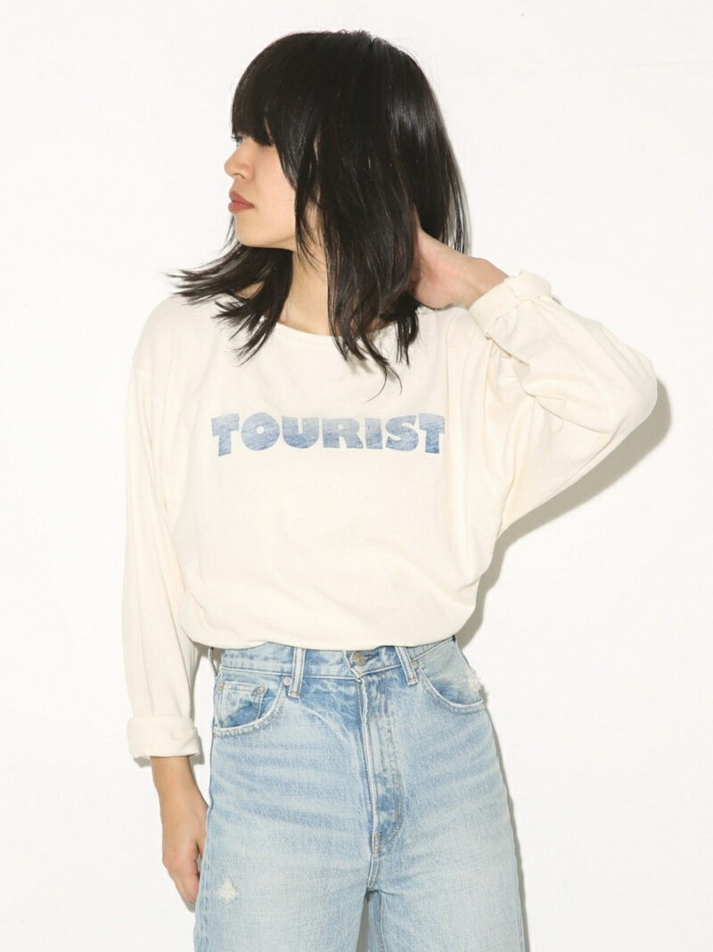 【SALE/60%OFF】SLY TOURIST LOOSE LONG TEE スライ カットソー【RBA_S】【RBA_E】