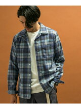 Pendleton×DOORS 別注オープンカラーシャツ