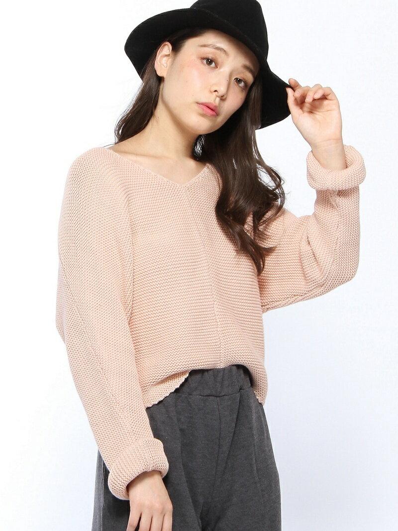 eimy istoire ロールアップガーターニットプルオーバー エイミー イストワール ニット【送料無料】