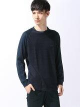(M)インディゴ風 Tシャツ (長袖)