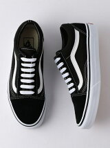 VANS OLD SKOOL BK〈バンズ〉