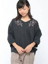 RETRO GIRL/ピーチ刺繍BL