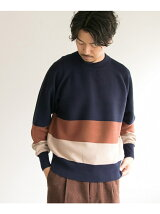 Color block knit