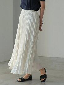 【SALE/57%OFF】AMERICAN HOLIC ラメプリーツスカート アメリカン ホリック スカート フレアスカート ホワイト グレー ピンク