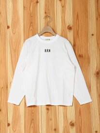 【SALE/40%OFF】branshes バックプリント長袖Tシャツ ブランシェス カットソー【RBA_S】【RBA_E】