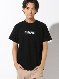 【SALE/15%OFF】SILAS SS TEE ADULT サイラス カットソー Tシャツ ブラック ブルー レッド ホワイト