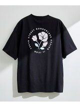 【 it iCON 】Violets round logo tee