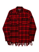 FRINGE BROCK FLANNEL SHIRT