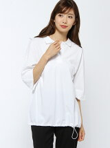 (W)ドロスト ポロシャツ (五分袖)