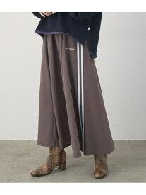ViS 【店舗限定】【CONVERSE】サイドラインスカート ビス スカート スカートその他 ブラウン ブラック【送料無料】