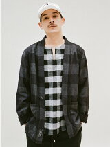 PULLOVER FLANNEL SHIRT