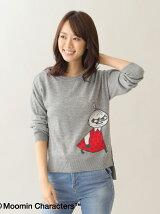 Moomin×AfternoonTea/ジャカードプルオーバー