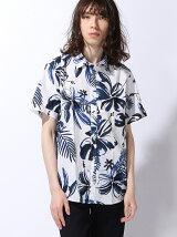 (M)SFフラワープリントショートスリーブシャツ