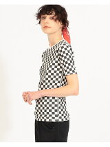 SCREEN STARS * maturely / Checker Reversible Tshit