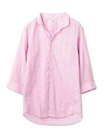 【SALE/50%OFF】RATTLE TRAP 50sボイルドビーストライプ スタンドカラーシャツ メンズ ビギ シャツ/ブラウス 長袖シャツ ピンク ホワイト ブラック【送料無料】