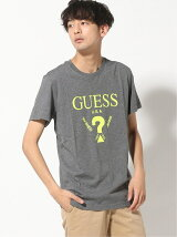 GUESS/(M)MEN'S S/SLV TEE SHIRT