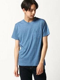 【SALE/20%OFF】SPENDY'S Store 丸首半袖何枚あっても便利!ポケットT スペンディーズストア カットソー Tシャツ ホワイト ブラック ピンク ネイビー ブルー グレー レッド