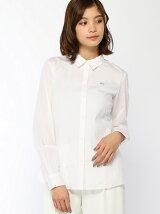 (W)ストライプシャツ (長袖)