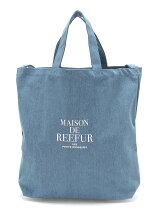 2WAY TOTE BAG DENIM