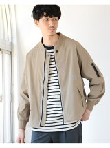 Manhattan Portage * B:MING by BEAMS / 別注 ストレッチ MA-1