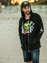 SURF zip hoodie