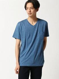 【SALE/20%OFF】SPENDY'S Store V首半袖何枚あっても便利!ポケットTシャツ スペンディーズストア カットソー Tシャツ ホワイト ブラック ピンク ネイビー ブルー イエロー グレー レッド