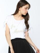ビーズロゴTシャツ