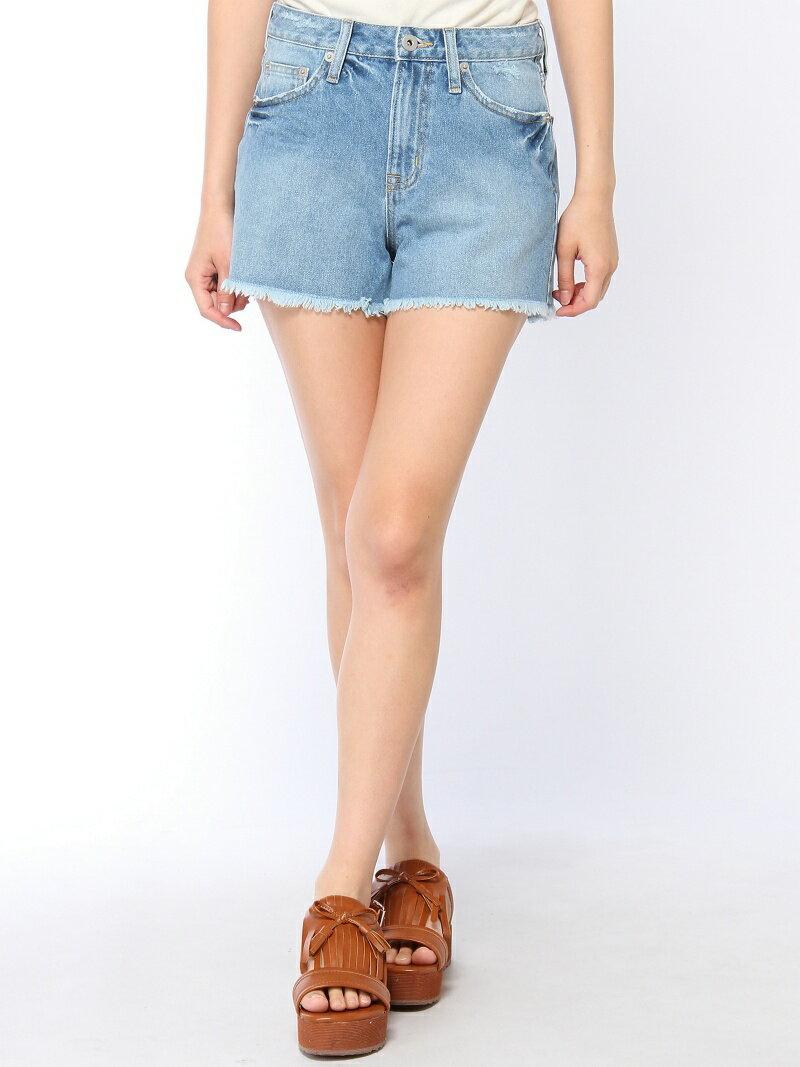 【SALE/55%OFF】BROWNY STANDARD 【BROWNY STANDARD】(L)Frayed denim shorts ウィゴー パンツ/ジーンズ【RBA_S】【RBA_E】