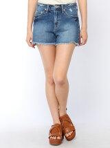 【BROWNY STANDARD】(L)Frayed denim shorts