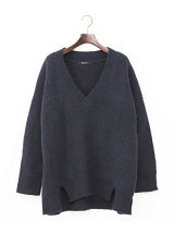 Johnbull/(W)ブイネックセーター