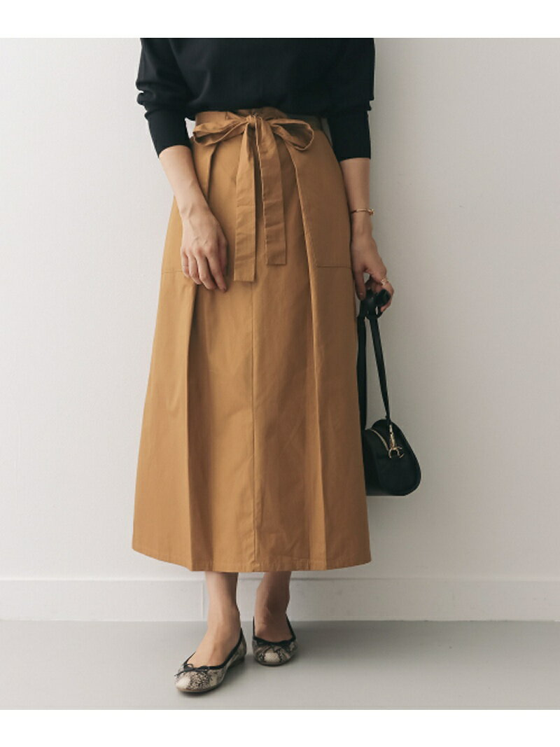 【SALE/30%OFF】DOORS タックリボンスカート アーバンリサーチドアーズ スカート【RBA_S】【RBA_E】【送料無料】