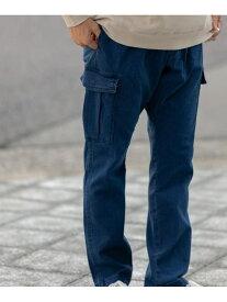 【SALE/18%OFF】ITEMS シェフカーゴパンツ アーバンリサーチアイテムズ パンツ/ジーンズ パンツその他 ネイビー ブラック カーキ ホワイト【送料無料】