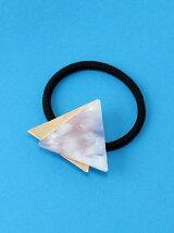 (L)三角ヘアゴム