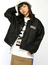 X-girl x NONAGON COACH JACKET