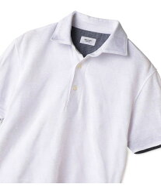 【SALE/50%OFF】MEN'S BIGI トライアングルリンクスポロシャツ メンズ ビギ カットソー Tシャツ ホワイト ネイビー【送料無料】