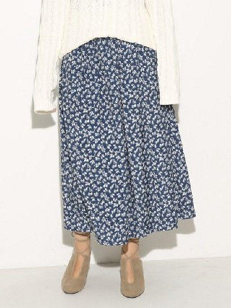【SALE/60%OFF】SLY AVERY FLOWER LONG SK スライ スカート【RBA_S】【RBA_E】