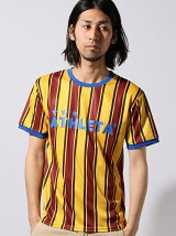ストライププラTシャツ