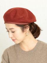 【予約】BY グログランテープ フェルトカラーベレー帽