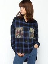 シアープリントポケット シャツ
