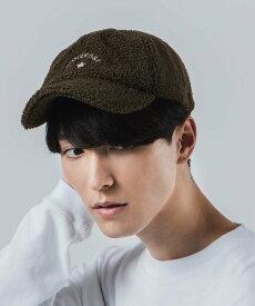 【SALE/66%OFF】CONVERSE (M)別注CONVERSE/ボアLowCap ウィゴー 帽子/ヘア小物 キャップ カーキ ブラウン ホワイト