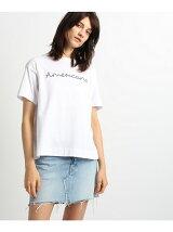 Americana バックシャンロゴTシャツ