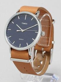 【SALE/20%OFF】TIMEX TIMEX/(U)フェアフィールド 41mm ネイビー×ブラウン ライフスタイルステーション ファッショングッズ 腕時計 ネイビー【送料無料】
