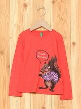 (K)おしゃれアニマルガールTシャツ・カットソーDT1