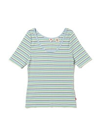 【SALE/64%OFF】Levi's VENICE Tシャツ ARIADNE STRIPE ANGEL FALLS リーバイス カットソー Tシャツ