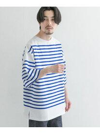 URBAN RESEARCH リラックスボートネックボーダーショートスリーブ アーバンリサーチ カットソー Tシャツ【送料無料】