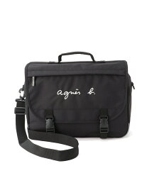 agnes b. ENFANT ENFANT/(K)GL11 E BAG ロゴ刺繍 ランドセル アニエスベー バッグ キッズバッグ ブラック【送料無料】