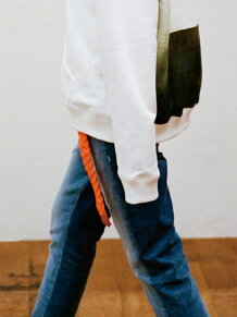 REWORKED C5 TAPERED JEAN(DAMAGE)