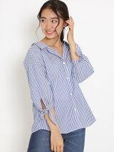 ≪UNDER10,000≫抜け襟袖リボンシャツ