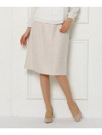 【SALE/50%OFF】SunaUna ソフティツィードスカート スーナウーナ スカート スカートその他 ベージュ ネイビー【送料無料】